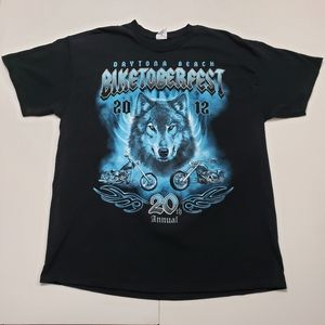 Men's 2012 BIKETOBERFEST Shirt Size XL